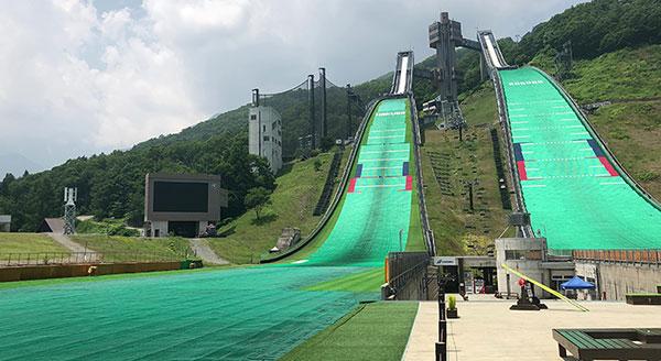 跳台滑雪道