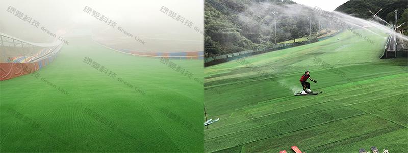 重庆国际滑雪场和日本阳光人工滑雪场
